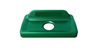 Slim Jim® recycling lids are designed to make recycling easier with consistent color-coding, lid openings and waste stream options.