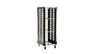 Our Vinyl Rack Cover reduces cross-contamination when used with ProServe® Rack System