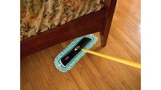 Light Commercial Microfiber Fringed Dust Mop Pad is designed with high-pile microfiber that collects and holds dust and dirt mechanically and electrostatically for superior dusting results. Trap and lock away dust, dirt, and debris while reaching significantly greater surface area versus nonfringed mops for faster cleaning.