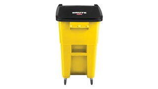 The Rubbermaid Commercial BRUTE® Rollouts with Casters are ideal for collecting, consolidating, and transporting heavy facility waste. Front swivel casters distribute weight evenly for superior mobility and handling.