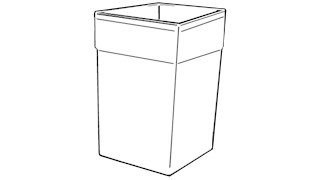 The Rubbermaid Commercial Glutton Recycle Bin Liner fits inside the largest capacity indoor/outdoor use Rubbermaid Commercial containers (sold separately).