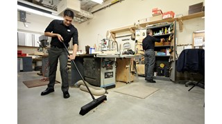 """Heavy Duty Sweep Push Broom 1861212 Executive 24"""" is designed to pick up the finest debris."""