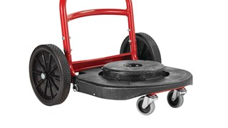 Built to handle rough and uneven surfaces, the BRUTE® Multi-Surface Dolly is designed to help make moving waste easier than ever. Ergonomically designed features help prevent injuries and support worker safety while on the job.
