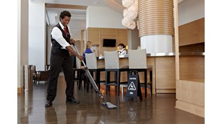 HYGEN™ PULSE™ Microfiber Mop Frame cleans more square feet in less time. Industry-best microfiber, onboard reservoir, and use-controlled release of solution mean cleaner floors faster, easier, and more effectively.