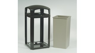 The solution for secure, effective, and affordable waste management for outdoor use.