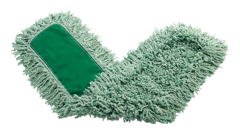"Twisted-Loop Blend Antimicrobial Dust Mop 48"" FGJ55700 is a premium prelaundered dust mop that provides maximum durability and optimal cleaning performance."