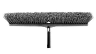 "Medium Sweep Push Broom 1861211 Executive 24"" is designed to pick up the finest debris."