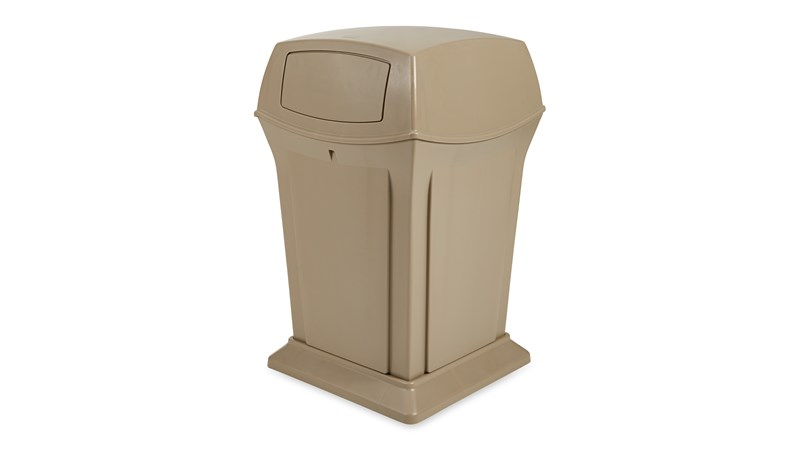 The Ranger® Container features Rubbermaid's famous durability, modern styling, and easy-to-service design.