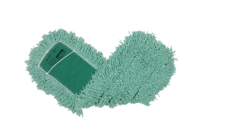 "Twisted-Loop Blend Antimicrobial Dust Mop 24"" FGJ55300 is a premium prelaundered dust mop that provides maximum durability and optimal cleaning performance."