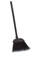Executive Series™ Lobby Broom, Vinyl Handle, Black