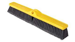 """Medium Floor Sweep 24"""" FG9B1100 is a push broom designed to round up heavier dirt from multiple floor surfaces."""