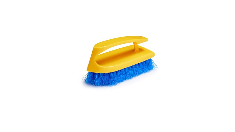The Iron Handle Scrub Brush is a high-quality scrub brush designed to make scrubbing easier.