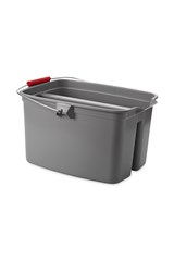 19 QT Double Pail, Gray