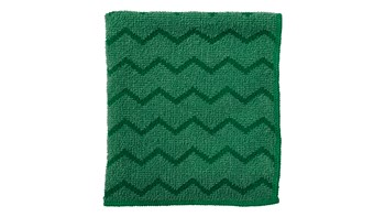 HYGEN™ 16 IN X 16 IN Microfiber Cloth, 6 Pack, Green