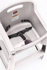 Sturdy Chair™ High Chair without Wheels Platinum