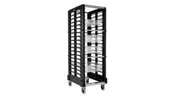 Food Pan End Loader Racks for Food Boxes and Sheet Pans