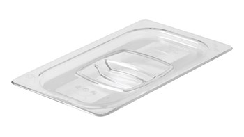 Insert pan cover in industry standard, gastronorm sizes.