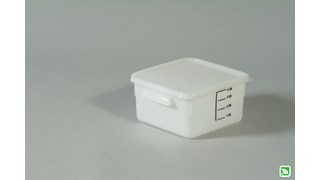 Space Saving Square Containers
