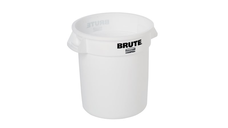 The Rubbermaid Commercial ProSave® Ingredient Container straight wall design and inmold branding make containers ideal for use in food-handling environment.