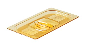 Heavy duty hot insert pan cover with handle