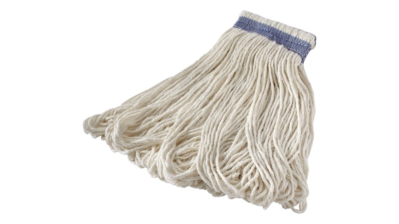Excellent, all-purpose mop for general cleaning. Looped ends reduce fraying associated with cut-end mops.