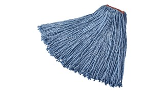 The Rubbermaid Commercial Premium Cut-End Cotton Mop is designed for general purpose cleaning.