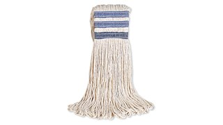 The Rubbermaid Commercial Universal Headband Cotton Floor Mop is an excellent, all-purpose floor mop for general cleaning.