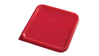 The Rubbermaid Commercial seven colors of storage and prep tools help to reduce cross-contamination in your kitchen
