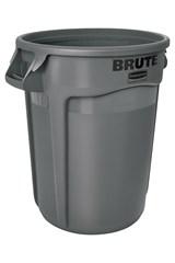 Vented BRUTE® 32 Gal Gray