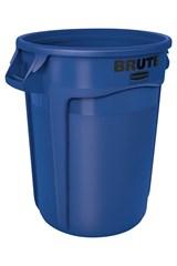 Vented BRUTE® 32 Gal Blue