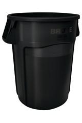 Vented BRUTE® 44 Gal Black