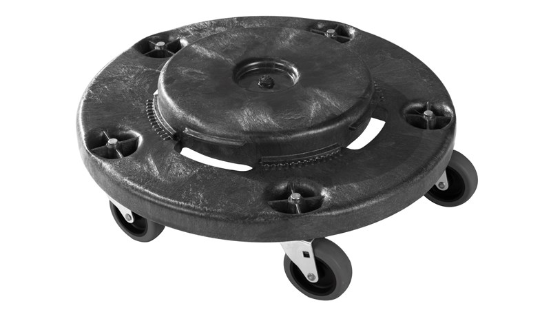 The Rubbermaid Commercial BRUTE® Dolly provides easy mobility and maneuverability when collecting and transporting heavy loads.