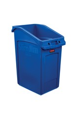 Slim Jim® 23 Gal Under Counter Container Blue