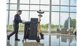 The new Maximizer cleaning tools from Rubbermaid Commercial Products help workers save time by reducing steps in a task, reducing the time of a step and reducing user effort.  Engineered to last and designed to perform in a variety of common spaces, Maximizer cleaning tools deliver fast, consistent results shift after shift.