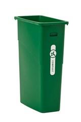 Slim Jim® Legacy 23 Gal Compost Green