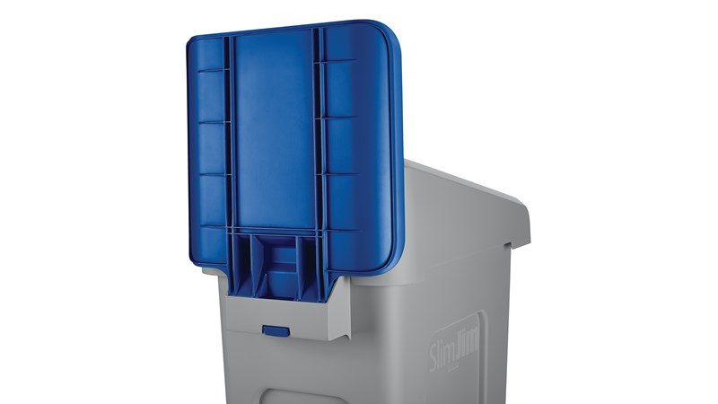 An adaptable recycling solution offers a front-of-house look with back-of-house functionality.