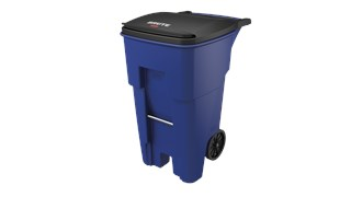 Easy mobility for material handling, general refuse, and bulk waste collection.
