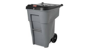 The Rubbermaid Commercial BRUTE® Rollout confidential waste containers offer a comprehensive secure document solution to help meet HIPAA needs.