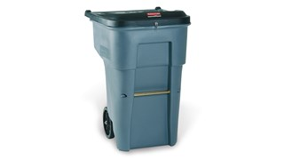 This Rubbermaid Commercial BRUTE Shred It Garbage Can offers a comprehensive secure document solution to help meet HIPAA needs.