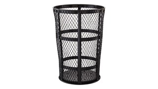 The Street Basket is designed to withstand constant use and harsh weather conditions.