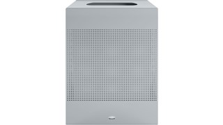The sleek Silhouettes 22.5 Gallon FGSR18 Decorative Rectangle Indoor Waste Container has a contemporary perforated pattern designed to seamlessly and beautifully blend with modern facilities and environments. High-quality materials and craftsmanship ensure containers can withstand the rigors of everyday use.