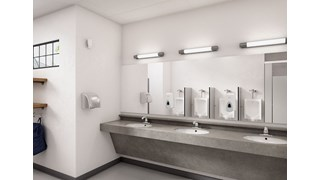 The AutoFlush® Sidemount for urinals is a touch-free, sensor-activated system that eliminates the potential for cross-contamination and promotes good hygiene.