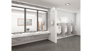 The AutoFlush® Clamp for toilets is a touch-free, sensor-activated system that eliminates the potential for cross-contamination and promotes good hygiene.