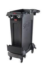 Slim Jim® Single-Stream Cleaning Cart Kit, Black