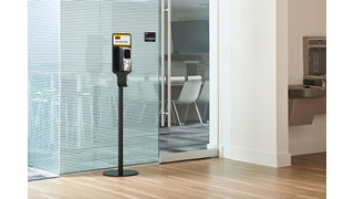 This all-metal stand with a weighted base enables free-standing hand sanitizer placement for easy access anywhere. Multi-solution stand allows for both Autofoam Dispensers and Metal Brackets to be mounted.