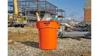 The High Visibility Vented BRUTE® Container was designed with visual distinction to help improve safety in the workplace. The bright color creates high contrast against a variety of backgrounds for quick identification.