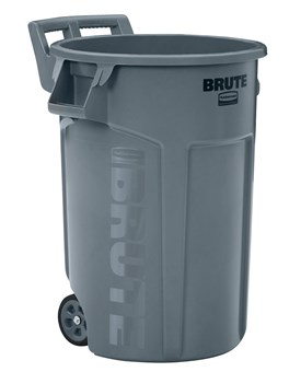 Made to move, built to last. Wheeled BRUTE® Containers allow you to move loads 5X easier* even over rough terrains to improve productivity and reduce the risk of injury.