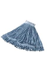 """24 OZ Super Stitch® Blend Wet Mop, 5"""" Headband, Blue"""