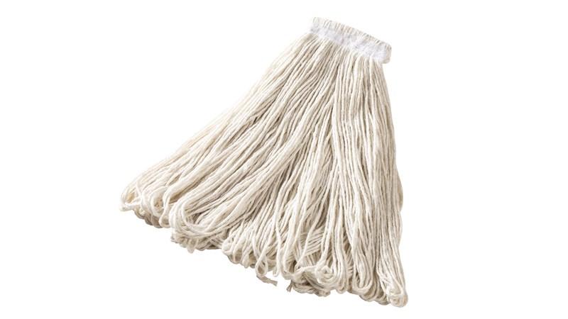 Universal Headband Rayon Mop is an economical floor finish applicator.