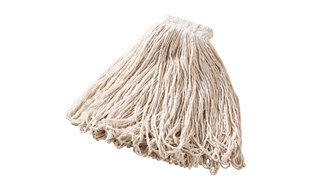Universal Headband Cotton Mop is an economical, all-purpose mop for general cleaning.